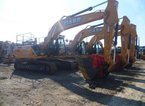 CASE CX210C 21t Excavator