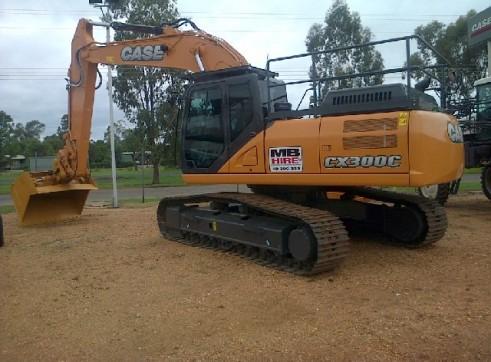 Case CX300C 30T Excavator Brand New 1