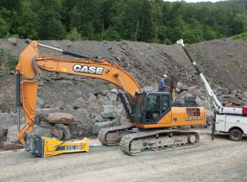 CASE CX350C 35t Excavator