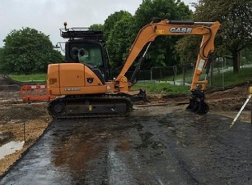 CASE CX80C 8t Excavator