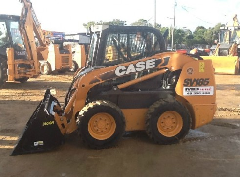 Case SV185 Skid Steer Loader 1