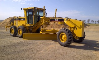 CAT 140H grader with Topcon GPS, low hrs  1