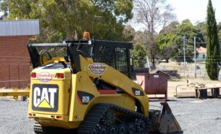 Cat 257B Skid Steer Bobcat 1