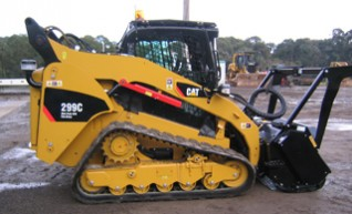 Cat 299C Tracked Skid Steer 1