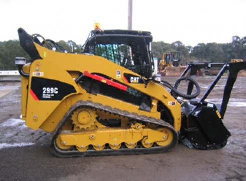 Cat 299C Tracked Skid Steer 1