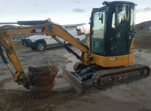 cat 303.5e excvatour
