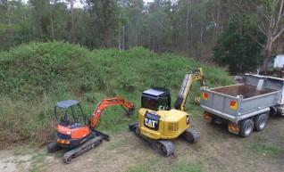 9T Cat 308 ECR2 Excavator 1