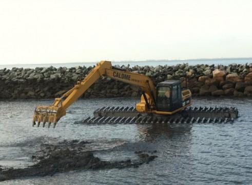 CAT 315DL Amphibious Excavator AMSA survey Certificate No T3701 2