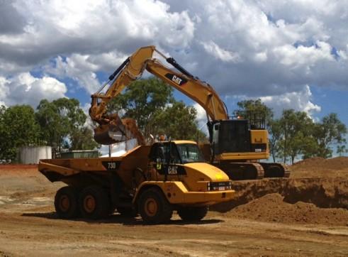 CAT 328LCR Zero Turn GPS Excavator 1