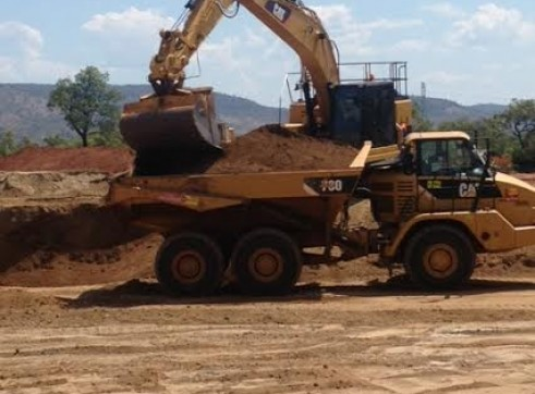CAT 328LCR Zero Turn GPS Excavator 3