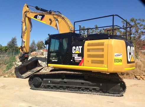 CAT 329 EL Excavator 2