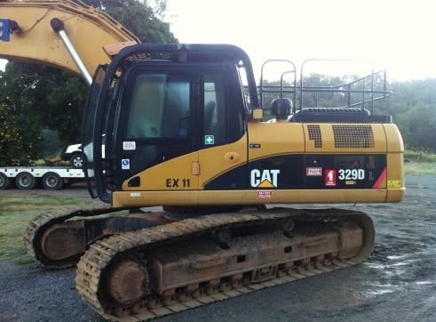 Cat 329DL 29T Excavator 1