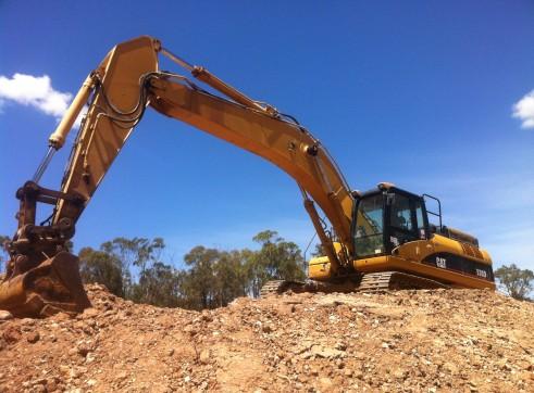cat 330dl excavator 1