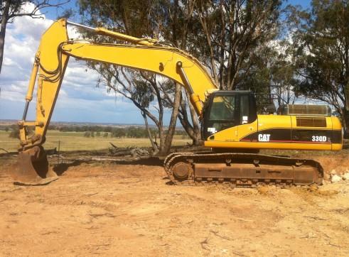 cat 330dl excavator 2