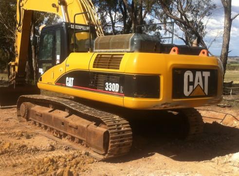 cat 330dl excavator 3
