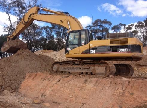 cat 330dl excavator 6