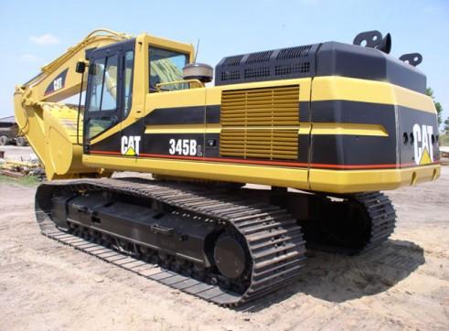Cat 345 BL excavator 1