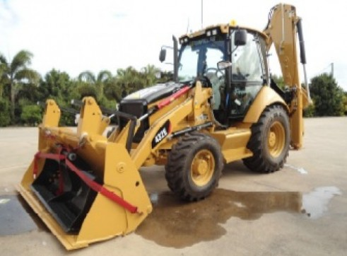 CAT 432E BACKHOE 4