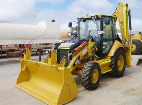 Cat 432E Backhoe Loader  1