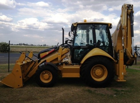 CAT 432E BACKHOE LOADER - MINE SPEC 1