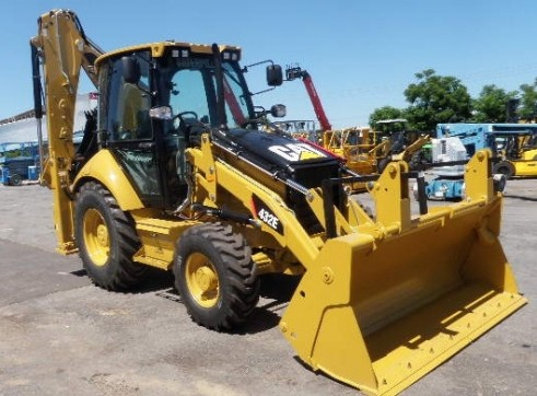 Cat 432E Backhoe Loaders 1