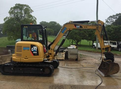 Cat 5T 305E Excavator