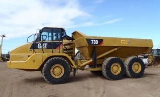 Cat 730 Arctic Dump Truck 1