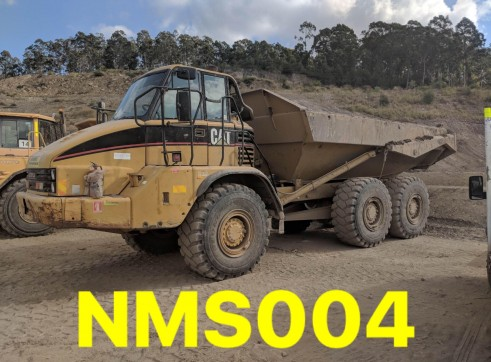 CAT 730 Dump Truck 30 tonne articulated 6x6 wheel drive NMS004 1