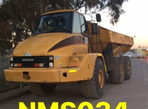 CAT 730 Dump Truck 30 tonne articulated 6x6 wheel drive NMS034 Newcastle 1