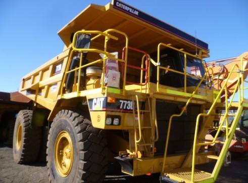 Cat 773D Rigid Dump Truck 2