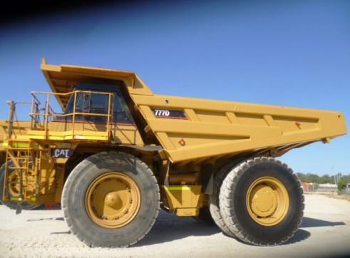 Cat 777D Rigid Dump Truck 1