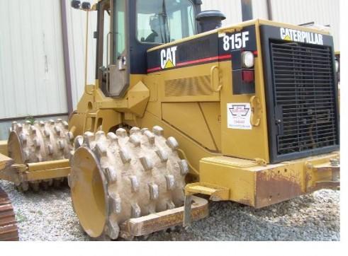 Cat 815F Compactors