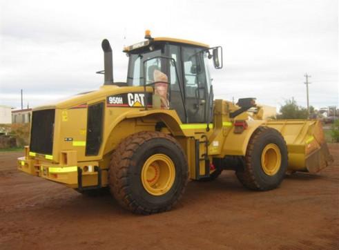 Cat 950H Wheel Loader  2