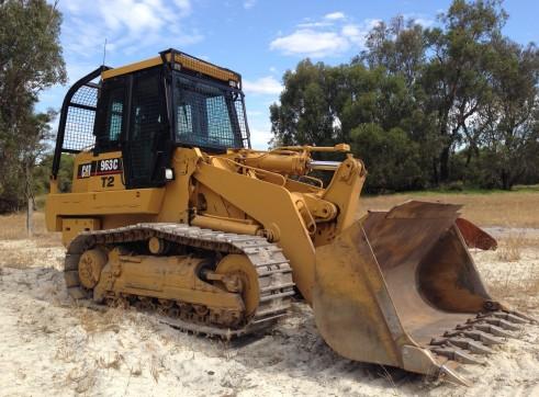 Cat 963C Track Loader 1