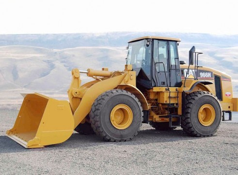 CAT 966H IT Wheel Loader 1