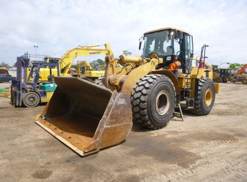 Cat 966H Wheel Loaders 2