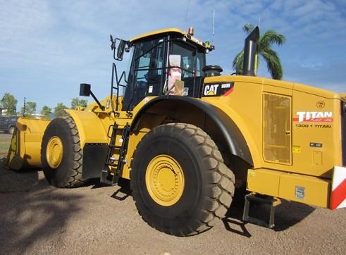 Cat 980H Wheel Loader 1
