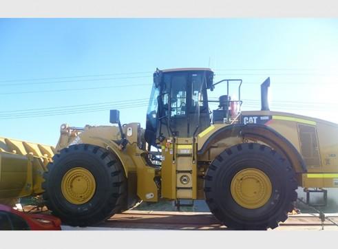 Cat 980H Wheel Loader 2