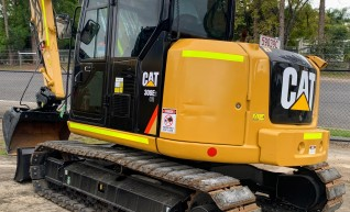 9T CAT Excavator 1