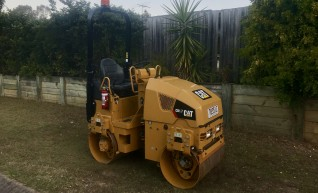 CAT CB1.7 Compactor Roller Dry Hire 1