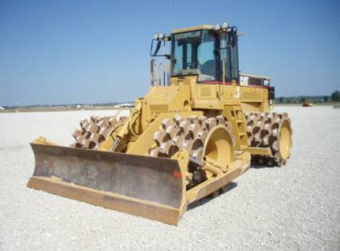 Cat Compactor 815F