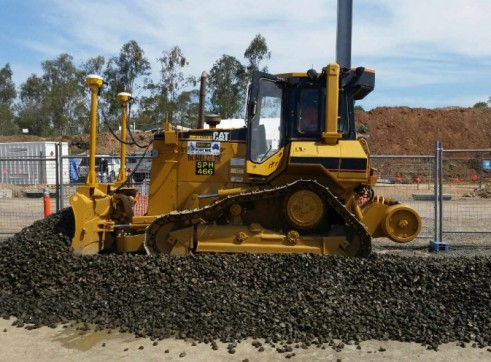 Cat D5 Hi-rail dozers with GPS