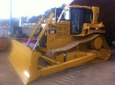 Cat D6H series 2 swamp dozer 1