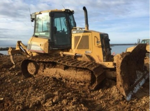 Cat D6K LGP Dozer with 6 way blade & rippers & GPS 1