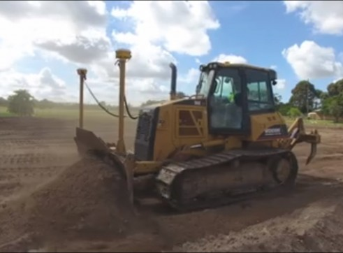Cat D6K LGP Dozer with 6 way blade & rippers & GPS 3