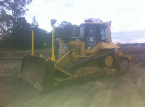 Cat D6M XL Fitted with trimble GPS 3