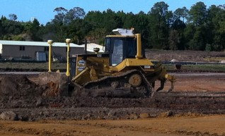 Cat D6M XL Fitted with trimble GPS 1