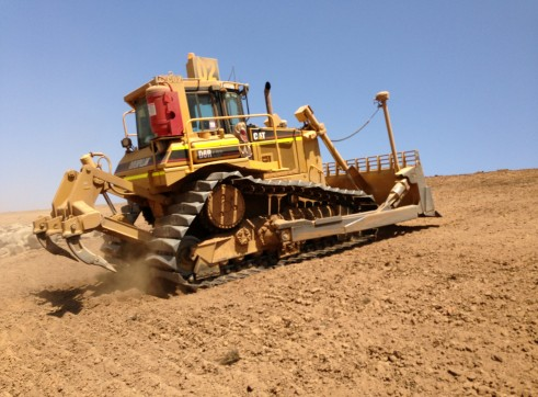 Cat D6R Swampie Dozer with GPS 1