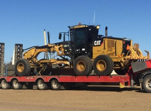 Caterpillar 140M Grader w/Trimble GPS / UTS 2
