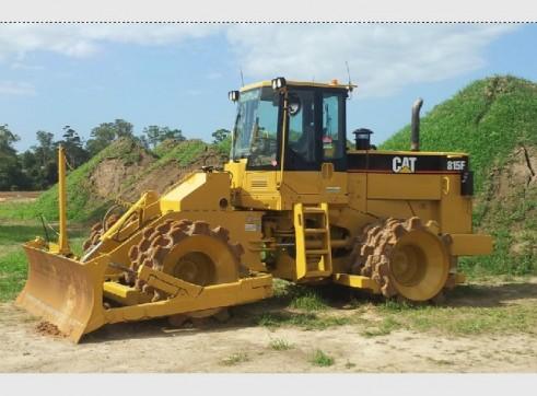 Caterpillar 21T 815F Compactor - Mine Spec 1